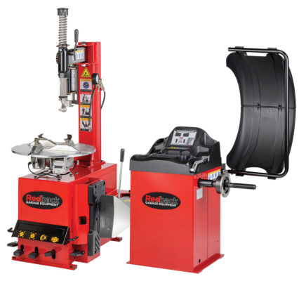 Tyre Changer RB200 and Wheel Balancer RB800