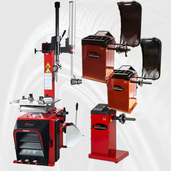 RB202 Tyre Changer and Wheel Balancer Package