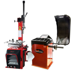 RB800 wheel balancer and 202 tyre changer