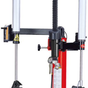 RB204 Redback Tyre Changer arms close up