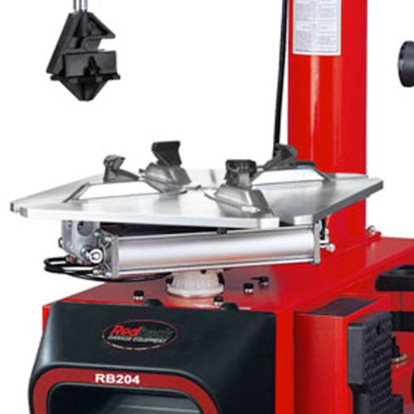 RB204 Redback Tyre Changer turntable close up