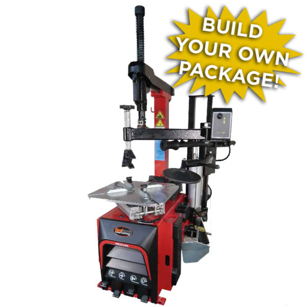 Redback 221PA Tyre Changer with optional balancers
