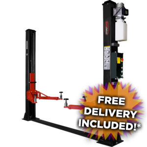 RB4000 2 post vehicle lift with free delivery