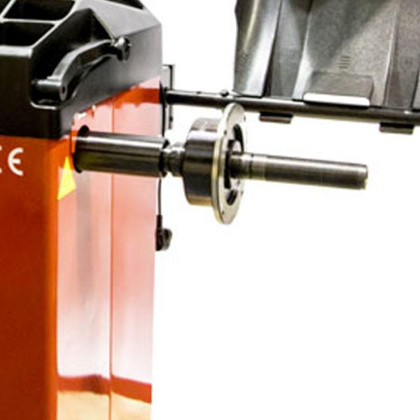 Redback 800 wheel balancer machine shaft