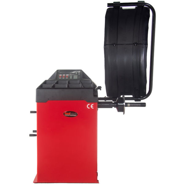 Redback by Unite 825 24″ Semi Automatic 2D Wheel Balancer Machine for garages from Tyre Bay Direct.