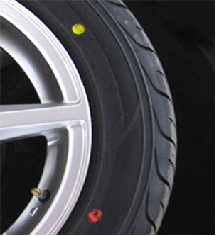 Discover the meaning behind the red dot and yellow dot found on the rim of tyres.