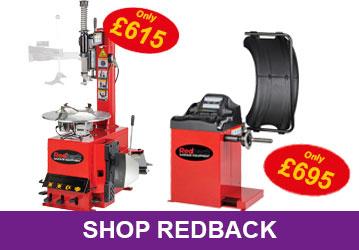 Redback Tyre Machine Offers