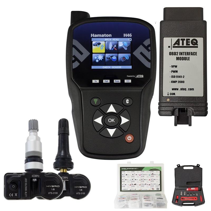 Advanced TPMS Starter Kit inc  Diagnostic Tool, Service Kit, Tool Kit & 24  T-Pro Sensors