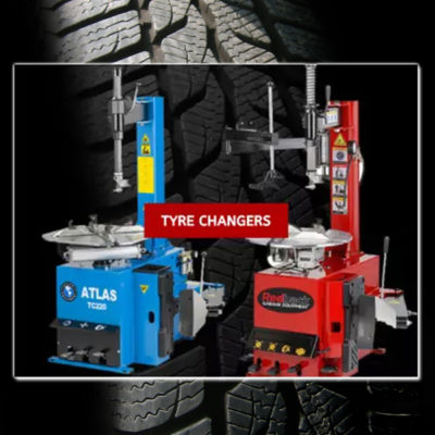 Tyre changers at TBD EBAY Outlet