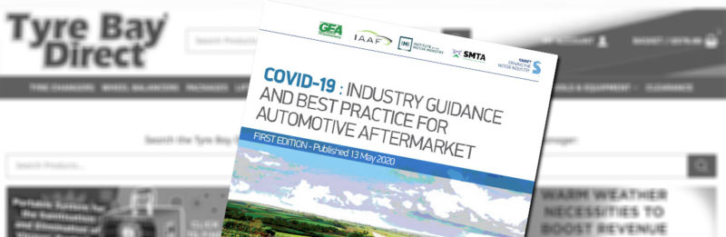 COVID-19 Protective Measures: Automotive Aftermarket Sector Industry Guidance and Best Practice header