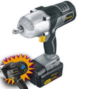 TBD durofix impact wrench with digital screen inset