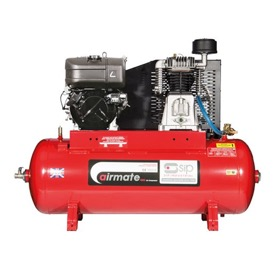 Airmate Industrial Super ISKP7/150 Compressor - 7hp Kohler Engine Pull Start