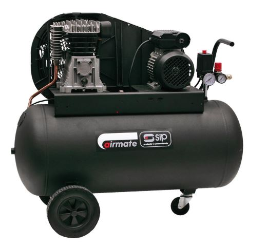SIP Airmate TN3/100-SRB Oil Lubricated Air Compressor
