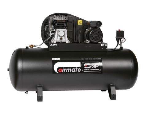 Airmate TN3/200-SRB Trade Belt Drive Air Compressor