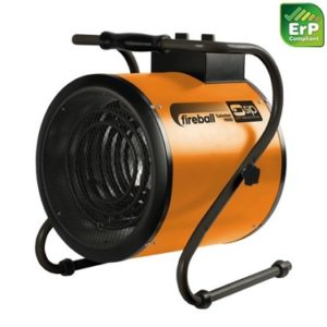SIP Fireball Turbofan 9000 3ph Electric Fan Heater