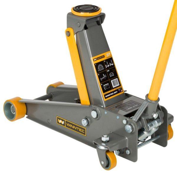 TBD1101 - 3 Ton Turbo Lift Trolley Jack (pu Wheels)