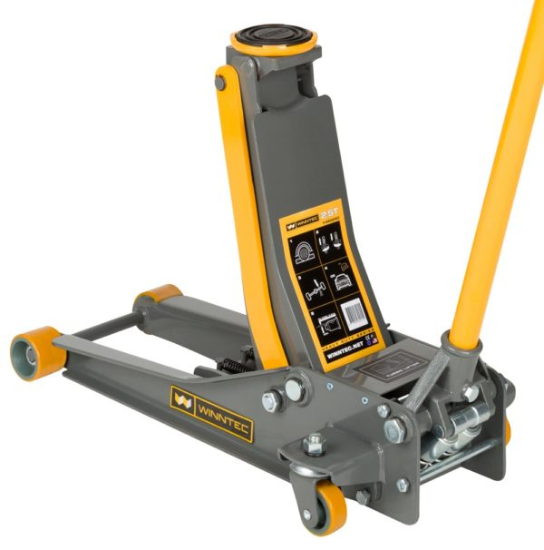 TBD1102 - 2 Ton Low Turbo Lift Trolley Jack (pu Wheels)