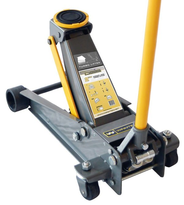 2 Ton Turbo Lift Winntec Trolley Jack from Tyre Bay Direct.