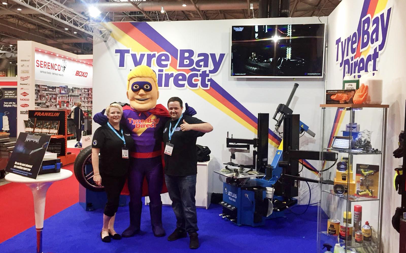 Team Tyre Bay at Automechanika 2018