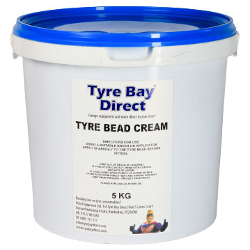 Universal Tyre Mounting Cream 5kg - Blue