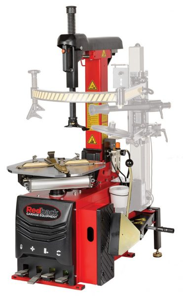 """TBDRB221 - Redback 221 23"""" Fully Automatic Tyre Changer"""