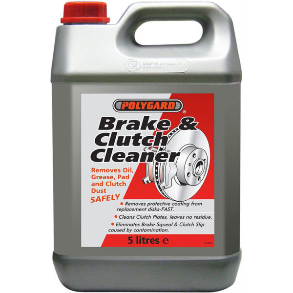 Polygard Brake & Clutch Cleaner 5L x 4