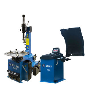 Atlas WB10 Wheel Balancer launch bundle with TC220 Tyre Changer without assist arm
