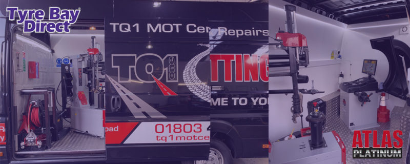 TQ1 Mobile tyre fitting equipment