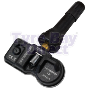 TBD-S368 Tyre Pressure Monitoring Valve Black Rubber