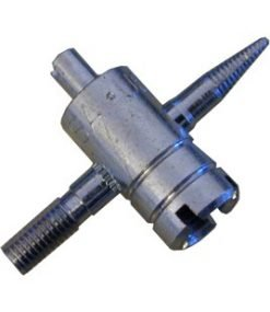 TBD004 - 4 in 1 Tyre Valve Tool Silver