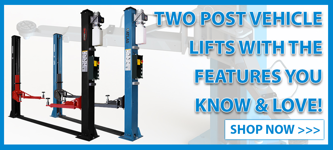 Budget Two Post Vehicle Lifts with features that you know & love!