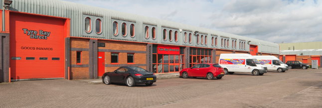 Tyre Bay Direct situated at Redditch