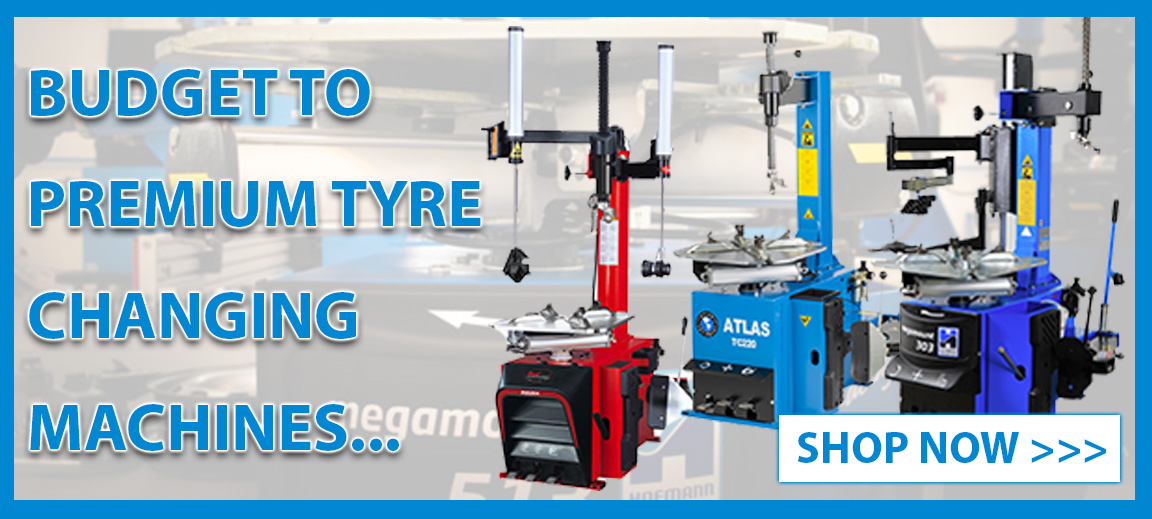 Discover our range of budget to premium Tyre Changing Machines at Tyre Bay Direct!