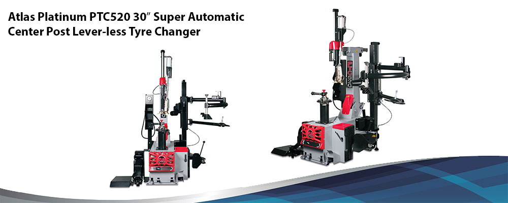 Super Automatic Tyre Changer Atlas