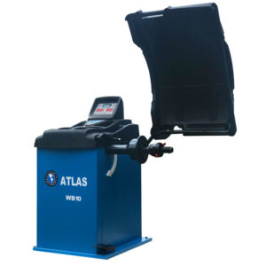 Atlas WB10 Wheel Balancer Angled left