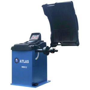 Atlas WB12 Wheel Balancer Machine for garages from Tyre Bay Direct.