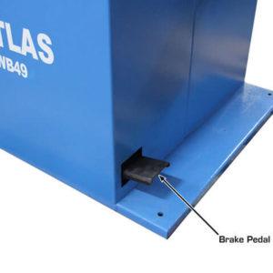 Atlas WB49 Balancer Break Pedal