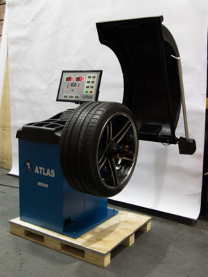 Atlas WB49 Wheel Balancer in Warehouse
