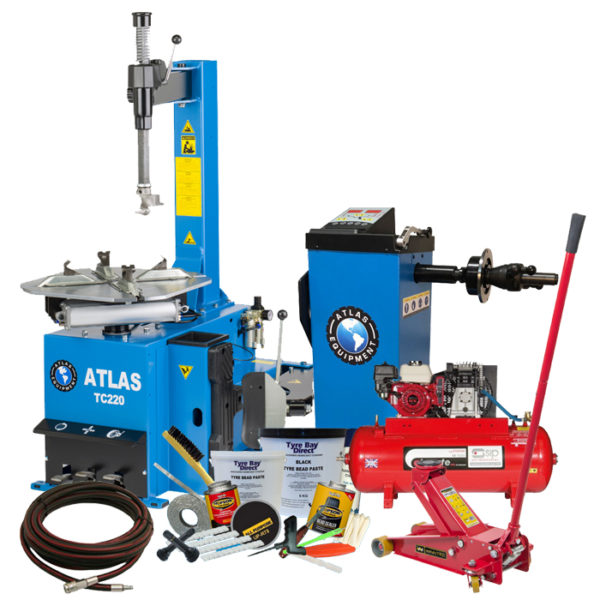 Mobile Tyre Fitting Package with TC220 Tyre Changer