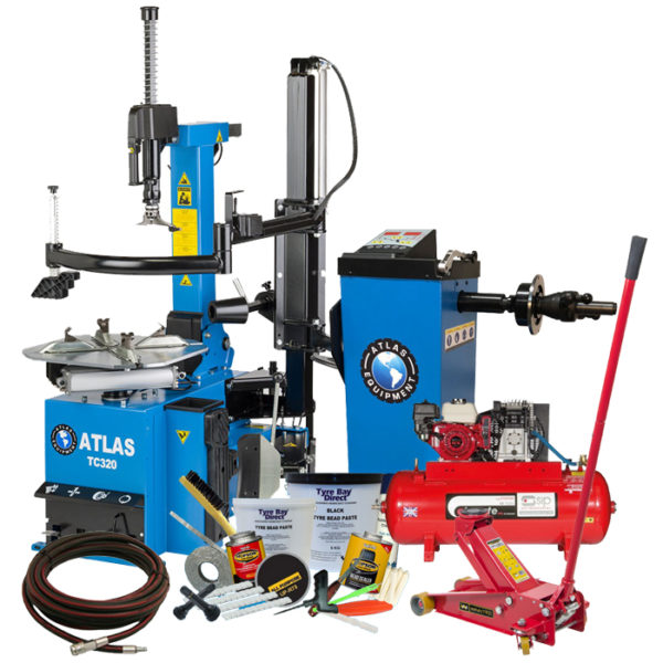 Mobile Tyre Fitting Package with TC320 Tyre Changer