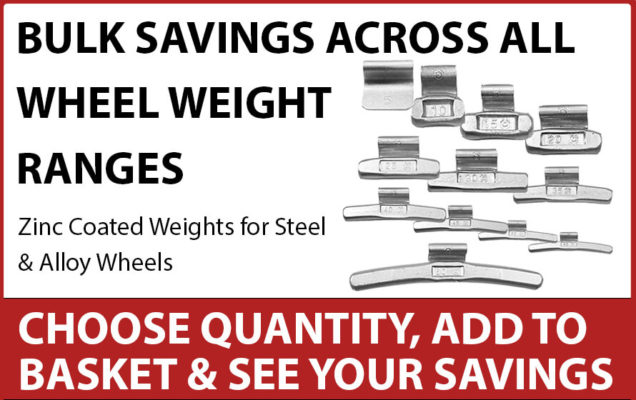 Wheel Weights Bulk Buys homepage banner