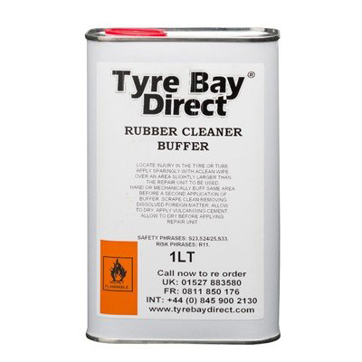 Rubber Cleaner Buffer Tin