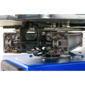 Hofmann Megaplan 'Elite' Super Automatic Tyre Changer turntable underneath