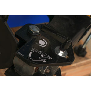 Hofmann Megaplan 'Elite' Super Automatic Tyre Changer operational switch