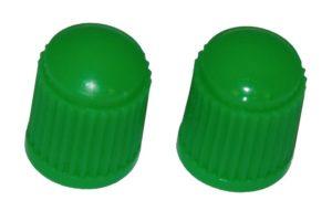 VC8G - Green Plastic Caps Qty 100