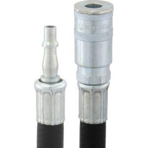 Hose Assembly 10m of 8mm i/d Hose, Standard Adaptor One End & Vertex Coupling Other End