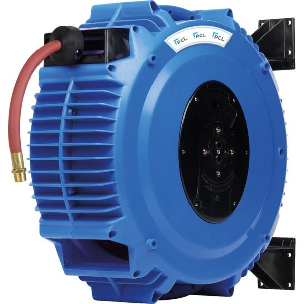 Heavy Duty Hose Reel 15m of 13mm (1/2) i/d Hose, Rp 1/2 Inlet, Rp 1/2 Outlet