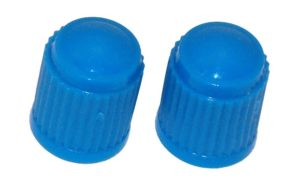 VC8B - Light Blue Plastic Caps Qty 100