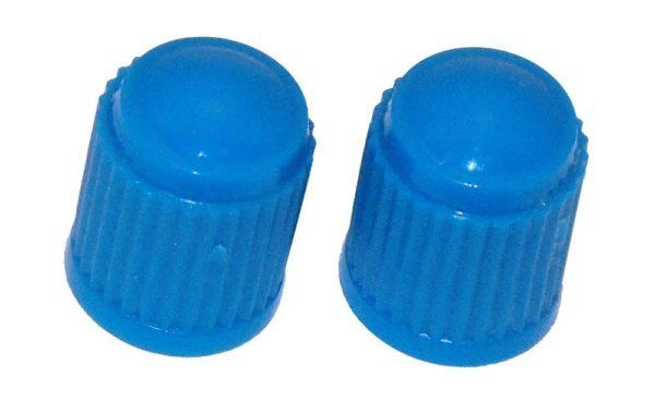 VC8B - Light Blue Plastic Caps Qty 100