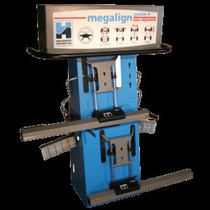 megaline system 4W laser wheel aligner
